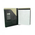 Monolith Executive Leather Conference Folder With A4 Pad A4 Black 2925