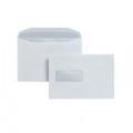 Postmaster Envelope 162x238mm High Window Gummed 90gsm White (Pack of 500) A29984