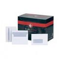 Plus Fabric C6 Envelope Wallet Window Self Seal 120gsm White (Pack of 500) F22670