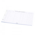 Concord Visitor Book Refill A4 Landscape (Pack of 50) 85801/CD14P