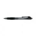 Q-Connect Retractable Ballpoint Pen Medium Black (Pack of 10) KF00267