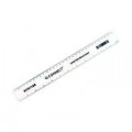 Q-Connect Shatter Resistant Ruler 30cm Clear (Pack of 10) KF01108Q