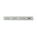 Q-Connect Shatter Resistant Ruler 30cm White (Pack of 10) KF01109Q