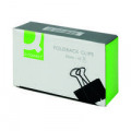 Q-Connect Foldback Clip 32mm Black (Pack of 10) KF01284
