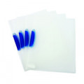 Q-Connect Swivelclip Files A4 Clear (Pack of 25) KF02138