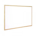 Q-Connect Wooden Frame Whiteboard 900x600mm KF03571