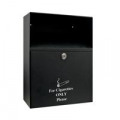 Q-Connect Ash Bin Black 7 Litre KF04386