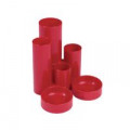 Q-Connect Desk Tidy Red (W130 x D130 x H105mm) MPTUBKPRED