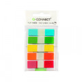 Q-Connect Page Markers 1/2 Inch Assorted (Pack of 100) KF14966