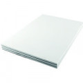 Q-Connect 5mm Quadrille Board Back Memo Pad 160 Pages A4 (Pack of 10) KF32008