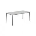 Jemini White Multipurpose Rectangular Table W1800mm KF79029