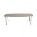 Jemini Grey Oak 1800mm Boardroom Table KF840199