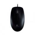 Logitech B100 Optical Mouse USB Black (800dpi sensitivity ensures accurant control) 910-003357