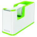 Leitz WOW Tape Dispenser Dual Colour White/Green 53641054