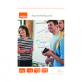 Nobo Squared Flipchart Pad 40 Sheets 580 x 810mm (Pack of 5) 34631166