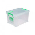 StoreStack 1 Litre Storage Box W180xD110xH90mm Clear RB00814