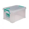 StoreStack 1.7 Litre Storage Box W200xD130xH110mm Clear RB00815
