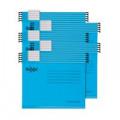 Rexel Classic Suspension Files Foolscap Blue (Pack of 25) 2115590