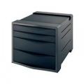 Rexel Choices Drawer Cabinet Black 2115609
