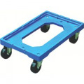 Blue Plastic Wheeled Container Dolly 369320