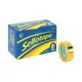 Sellotape Original Golden Tape 18mmx33m (Pack of 8) 1443251