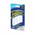 Sellotape Sticky Fixers Outdoor 20x20mm (Pack of 48) 783895