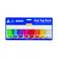 Kevron Standard Key Tags Assorted (Pack of 8) ID6TRL