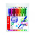 Stabilo Point Max Fineliner Pen Assorted (Pack of 24) 488/24-01