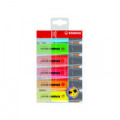 Stabilo Boss Original Highlighters Assorted (Pack of 6) 70/56