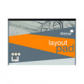 Silvine Layout Pad 80 Sheets A3 A3LP