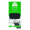 Work of Art Graded Pencils (Pack of 12) TAL05147