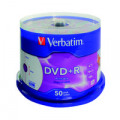 Verbatim DVD+R 16X 4.7GB (Pack of 50) 43234