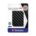Verbatim Store n Go Mini SSD USB 3.2 512GB Black 53236