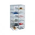 Go Secure Mailroom Sorting Unit 12 Compartment 2 x 6 Columns VP86706