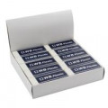 White Pencil Erasers (Pack of 20) WX01696