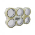 Sticky Tape 24mm x 66m Clear (Pack of 12) WX27017