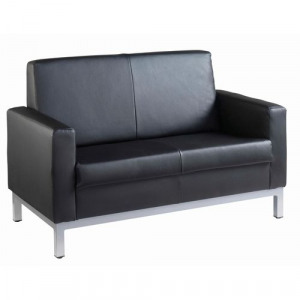 d764d35b8d HEL50002 Helsinki square back reception 2 seater chair 1340mm