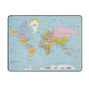 470321 durable world map desk mat pvc non slip base 470321 durable world map desk mat pvc non slip base w530xd400mm ref 721119 gumiabroncs Image collections