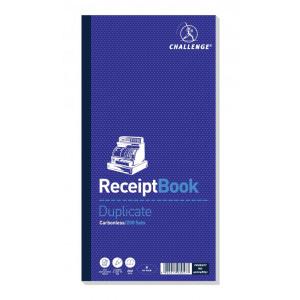 112564 challenge duplicate book carbonless receipt 200