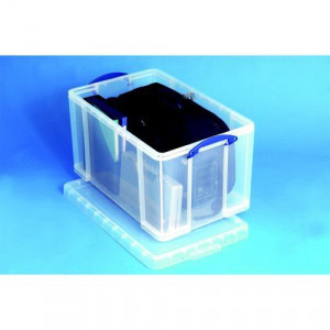sc 1 st  Evans u0026 Witt & 287145 Really Useful Storage Box Plastic Lightweight Robust