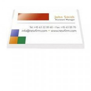 As9293 pelltech self adhesive business card pocket 60x95mm colourmoves