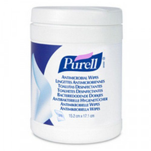 Purell Antimicrobial Hand Wipes 270 Wipes Per Tub