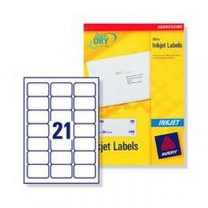la7922 avery inkjet address labels for 2100 labels
