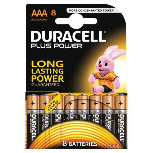 619690 Duracell Plus Power Battery Alkaline Aaa Size 1 5v Ref