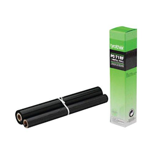 ba05809 brother thermal transfer ribbon ink film black pc71rf. Black Bedroom Furniture Sets. Home Design Ideas