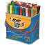 Bic Kids Assorted Visa Felt Pens (Pack of 84) 829013