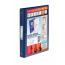 Elba Vision A4 Blue 4 Ring Binder PVC 100080876