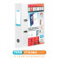 Elba Vision 70mm Lever Arch File A4 White 100080894