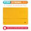 Elba Bright Manilla Document Wallet 320gsm Capacity 32mm Foolscap Yellow Ref 100090141 [Pack 25]
