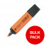 5 Star Office Highlighters Chisel Tip 1-5mm Line Orange [Pack 144] [Bulk Pack] Jan-Dec 2019
